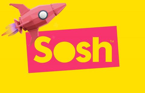 Sosh par Orange : La fibre Haut Débit à 15,99€/mois pendant 12 mois (sans engagement)