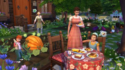 Les Sims 4 : l'extension Vie à la Campagne se lance dans un trailer musical et ensoleillé