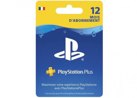 PlayStation Plus : 12 mois d'abonnement à 49,99€ chez Cdiscount !
