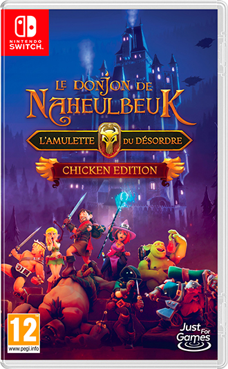 Le Donjon de Naheulbeuk : L'Amulette du Désordre sur Switch