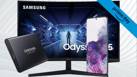 Prime Day 2021 : Les meilleures offres Samsung