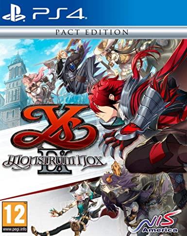 Ys IX : Monstrum Nox sur PS4