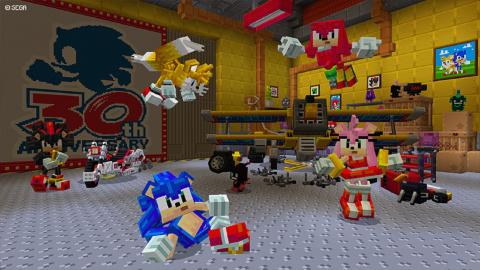 Minecraft : Sonic arrive à toute vitesse en tant que DLC !