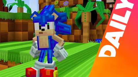 Que vient faire Sonic dans Minecraft ?