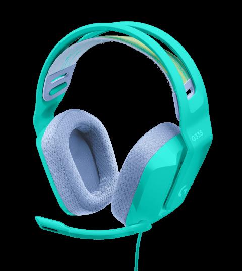 Logitech G dévoile le G335, un casque gaming léger et coloré