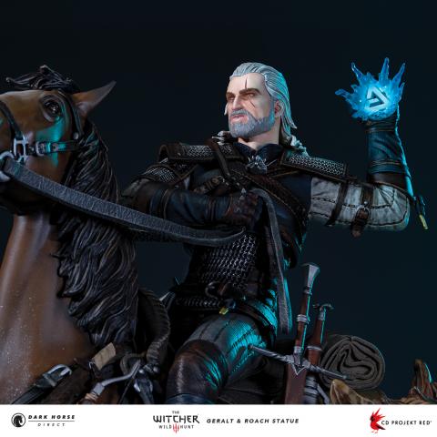 The Witcher 3 : Une statuette équestre de Geralt annoncée chez Dark Horse