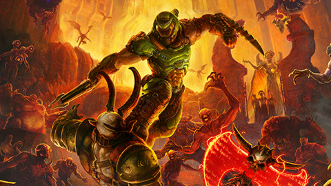 Doom Eternal : du gameplay maison sur PC, en 4K avec ray-tracing