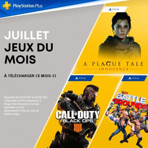 """PlayStation Plus : les jeux PS5 et PS4 """"gratuits"""" de juillet 2021"""