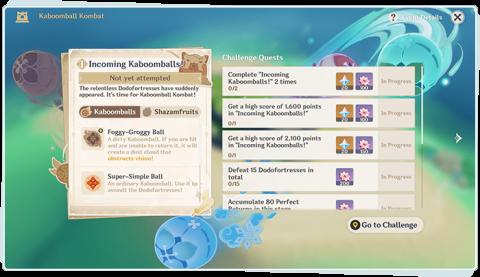 """Genshin Impact, événement """"Combadaboum"""" : notre guide complet, des Primo-gemmes à gagner (3ème partie)"""