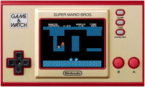 Soldes : La console Game & Watch Super Mario Bros. à seulement 39€ !