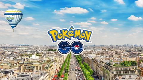 Pokémon GO vous invite à visiter le territoire français !