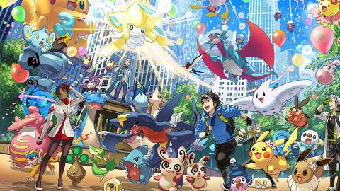 Pokémon Go : Un événement spécial pour célébrer les 5 ans du titre