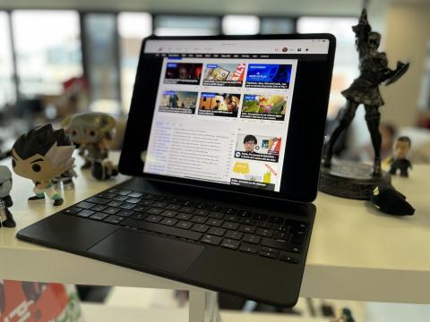 Test de l'iPad Pro M1 12.9 pouces : la tablette de tous les superlatifs