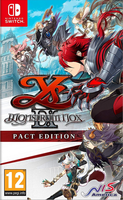 Ys IX : Monstrum Nox sur Switch
