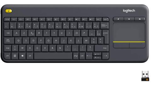 Soldes : Le clavier sans fil compact Logitech K400 Plus à 21€ seulement