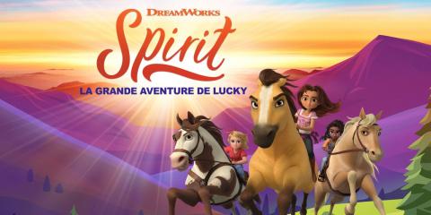 DreamWorks Spirit : La Grande Aventure de Lucky sur PC