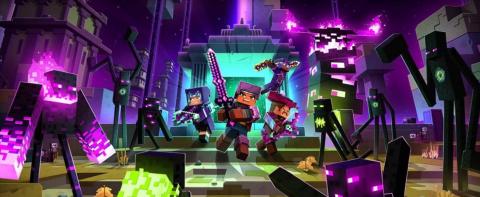 Minecraft Dungeons : Echoing Void