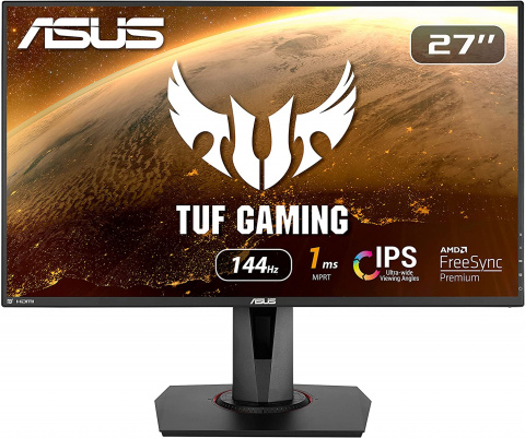 L'écran de PC gaming 27 pouces 144 Hz d'Asus à prix réduit !