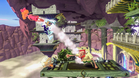 Nickelodeon All-Star Brawl Test by jeuxvideo.com