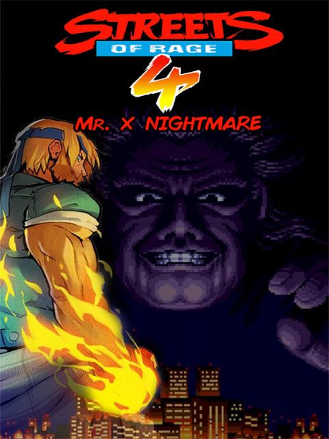 Streets of Rage 4 : Mr. X Nightmare sur ONE