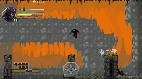 Within the Blade : Le pixelart au service d'un jeu d'action infiltration tranchant