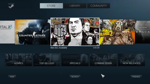 Steam Deck : L'interface Steam Big Picture est vouée à disparaître