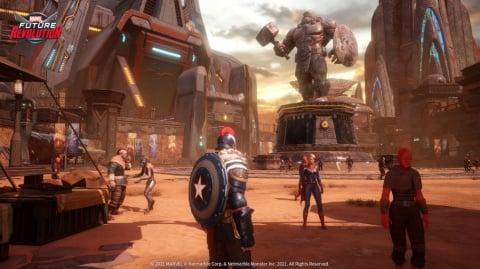 Marvel Future Revolution : Sauvez les univers dès aujourd'hui sur mobiles