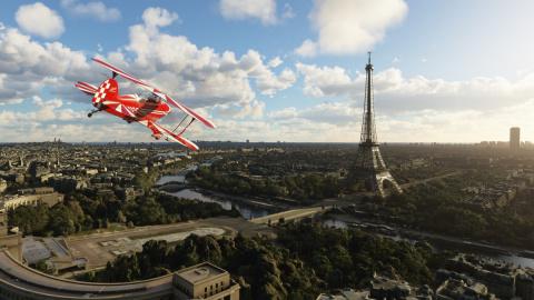 Flight Simulator Xbox Series X : passage sous la Tour Eiffel en 4K et c'est la cata !