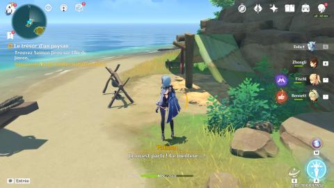 Genshin Impact, énigme des dalles en pierre : où les trouver ? Le plan d'une épée 4* à la clé !