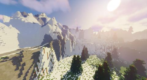Minecraft : seul, il refait le monde de Zelda Breath of the Wild