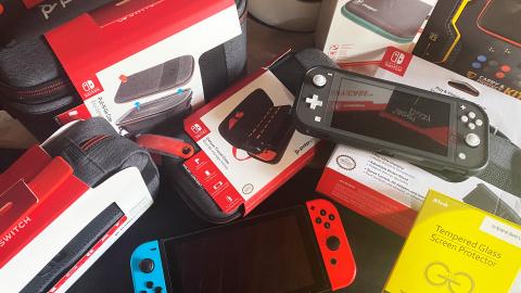 Les meilleures housses et pochettes pour Nintendo Switch