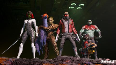 Les Gardiens de la Galaxie : la taille du jeu révélée sur PS5, une aventure gourmande ?