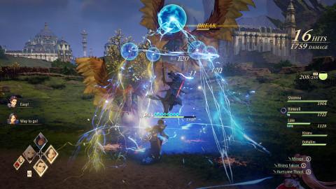Tales of Arise : Dohalim montre l'étendue de ses capacités au bâton