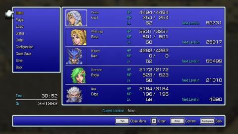 Final Fantasy Pixel Remaster : L'arrivée de Final Fantasy IV datée par Square Enix
