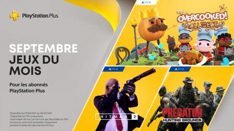 PlayStation Plus : récupérez vos jeux inclus de septembre 2021 !