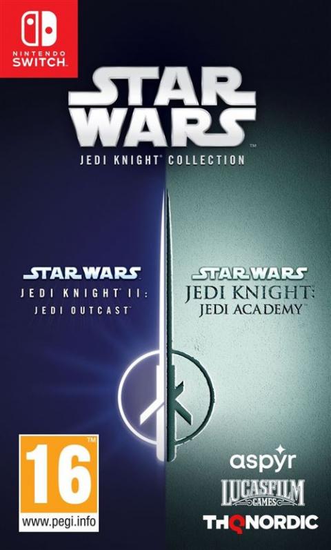 Star Wars Jedi Knight Collection : la compilation sur PS4 et Switch révélée avant l'heure, jaquettes et précommandes à l'appui