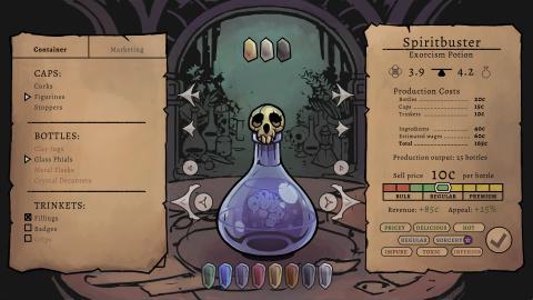 Potion Tycoon : Gérez votre entreprise de potions magiques comme une multinationale