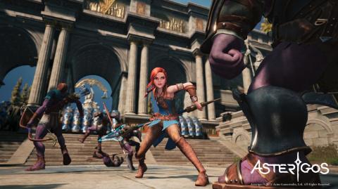 Asterigos : un jeu de rôle mythologique prometteur annoncé par ACME Gamestudios