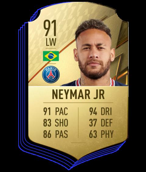 FIFA 22|FUT 2022: Messi, Neymar et Mbappé du PSG forment la meilleure attaque du jeu vidéo