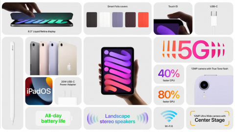 iPhone 13, Ipad Mini, Apple Watch... Le résumé de la keynote d'Apple