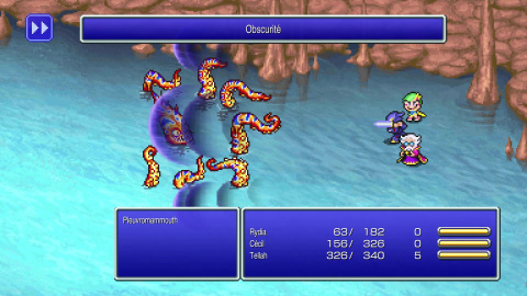 Final Fantasy IV Pixel Remaster : Le classique du J-RPG revisité avec brio