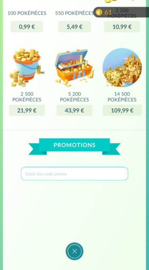 Pokémon GO : codes de récompenses gratuites de Septembre 2021