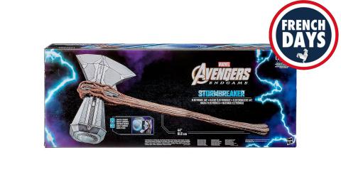 Même la hache de Thor en taille réelle est en promotion !