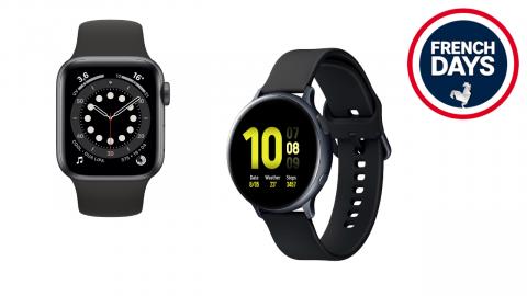 Promos sur les montres connectées Samsung, Xiaomi, Garmin et Apple pour les French Days
