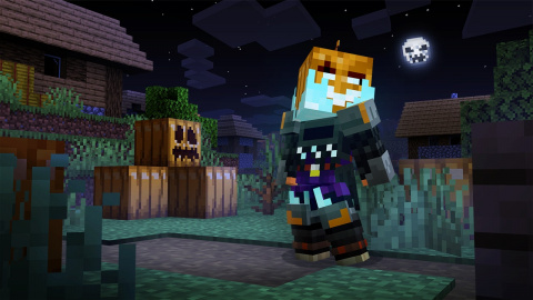 Minecraft and Minecraft Dungeons ready to celebrate Halloween, details