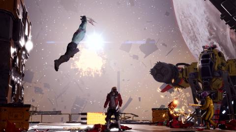 Les Gardiens de la Galaxie : Star-Lord et ses amis enclenchent la vitesse de la lumière dans ce trailer de lancement