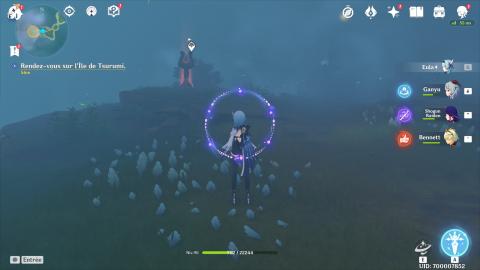 Genshin Impact 2.2 : comment accéder à la nouvelle île de Tsurumi et dissiper le brouillard