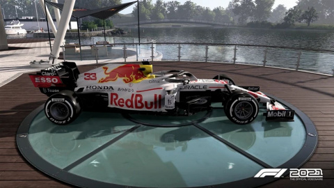 F1 2021: A legendary circuit and a livery tribute to the program of the new update!