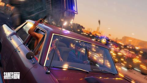 Saints Row : fusillades, accidents et cascades, les voitures au centre d'une nouvelle vidéo de gameplay pour le GTA-like