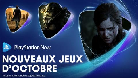 PlayStation Now : decouvrez les ajouts d'octobre 2021 !